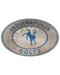 Indianapolis Colts 46 Inch Wall Art by