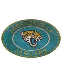 Jacksonville Jaguars 46 Inch Wall Art by