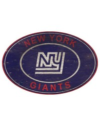 New York Giants 46 Inch Wall Art by