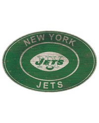 New York Jets 46 Inch Wall Art by