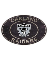 Oakland Raiders 46 Inch Wall Art by