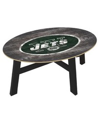 New York Jets Coffee Table by
