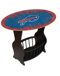 Buffalo Bills End Table by