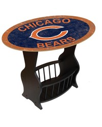 Chicago Bears End Table by