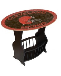 Cleveland Browns End Table by