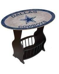 Dallas Cowboys End Table by