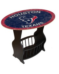 Houston Texans End Table by