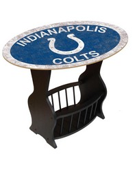 Indianapolis Colts End Table by