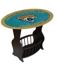 Jacksonville Jaguars End Table by