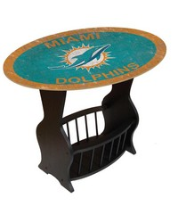 Miami Dolphins End Table by