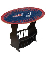 New England Patriots End Table by