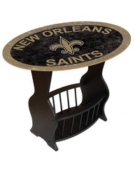 New Orleans Saints End Table by