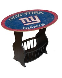 New York Giants End Table by