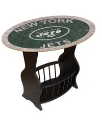 New York Jets End Table by