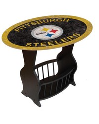Pittsburgh Steelers End Table by