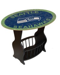 Seattle Seahawks End Table by