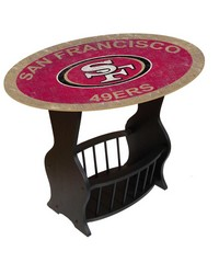 San Francisco 49ers End Table by