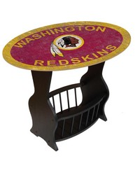 Washington Redskins End Table by