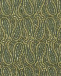 Classic Paisley Fabric  Shiny Paisley Tourmaline