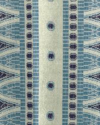 Blue Navajo Print Fabric  Dante Indigo