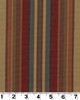 Roth and Tompkins Textiles Carlton Stripe CARDINAL