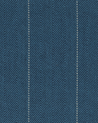 Copley Stripe Cobalt by