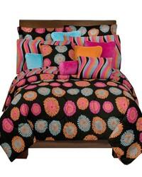 Flower Fantasy Comforter Sham Set Full by