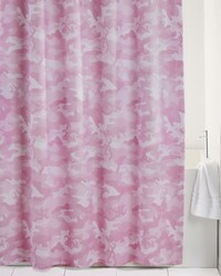 Buckmark Camo Pink Shower Curtain by