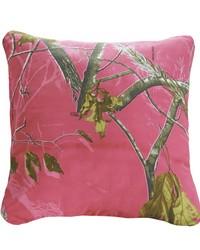 AP Fuchsia Square Pillow by