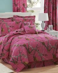 AP Fuchsia Comforter Set Queen by
