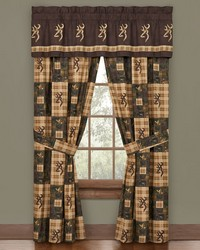 Browning Country Rod Pocket Curtains by