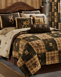 Browning Country Comforter Set Full by