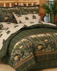 Rocky Mountain Elk Complete Bedding Set Queen by