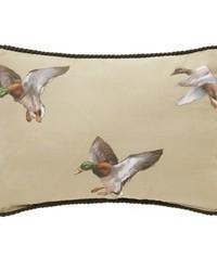 Duck Approach Oblong Pillow  Tan by