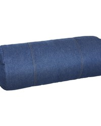 American Denim Bolster Pillow by