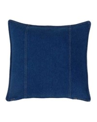 Denim Square Pillow by