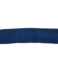 Denim Jumbo Bolster Pillow by
