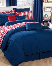 Denim Comforter Only Twin by