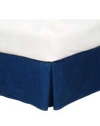 Denim Bedskirt XL Twin by