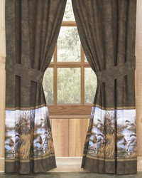 Duck Approach Rod Pocket Curtains by
