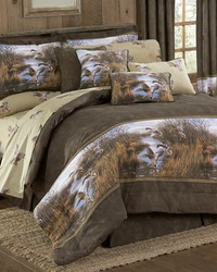 Duck Approach Comforter Set King by