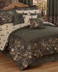 Browning Whitetails Comforter Set CA King by
