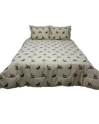 Wildlife Trio King Comforter Sham Set by