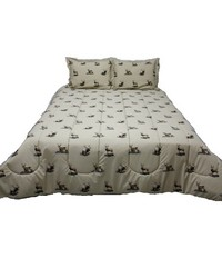 Wildlife Trio Twin Comforter Sham Set by