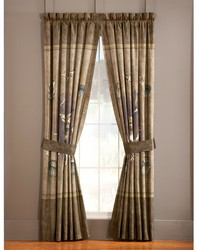 Whitetail Ridge Rod Pocket Curtains by