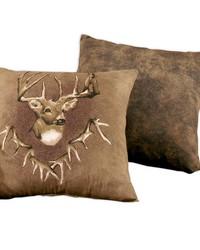 Whitetail Ridge Square Pillow by