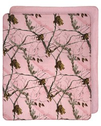 AP Pink Camo Throw by