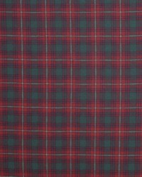 Doncaster Tartan Evening Red by