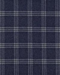Dickens Wool Check Navy by