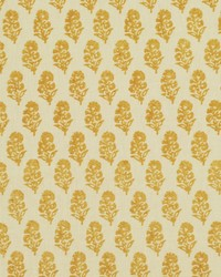 Allie Blockprint Goldenrod by